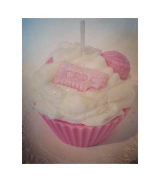Bougie cupcake Barbapapa