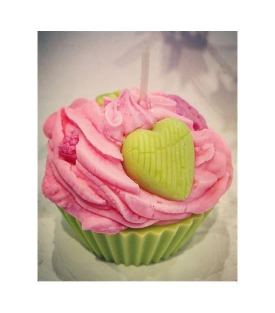 Bougie Cupcake Fleur De Lotus La Gourmand Ile