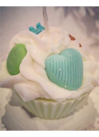Bougie cupcake Pain d'épices