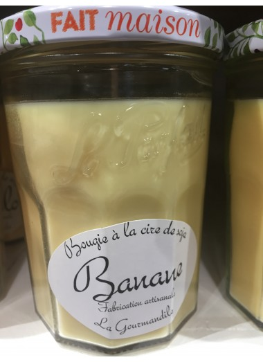"Bougie Pot gourmand ""Banane"""
