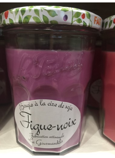 "Bougie Pot gourmand ""Figue-noix"""