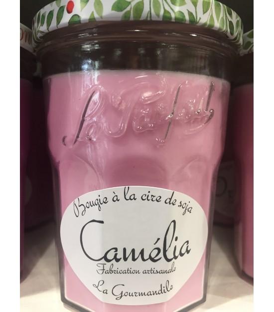 "Bougie Pot Gourmand ""Camélia"""