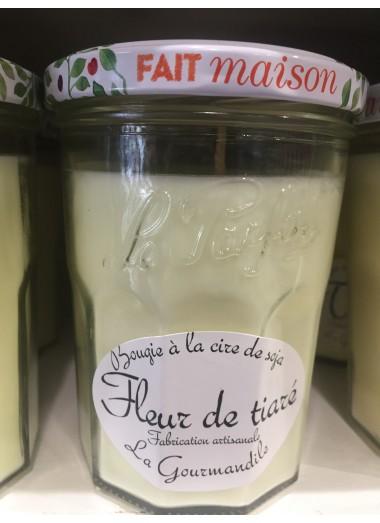 """Bougie Pot Gourmand """"Fleur de tiaré"""""""