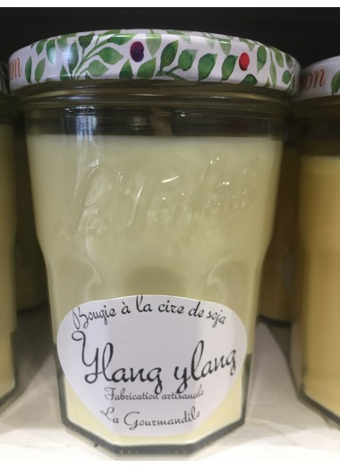 "Bougie Pot Gourmand ""Ylang ylang"""