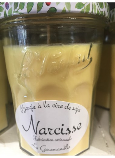 "Bougie Pot Gourmand ""Narcisse"""