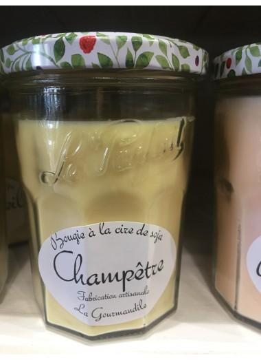 "Bougie Pot Gourmand ""Champêtre"""