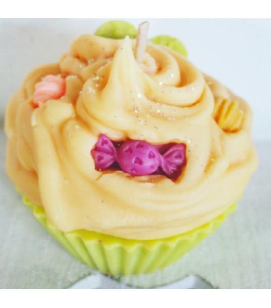 Bougie cupcake Monoï