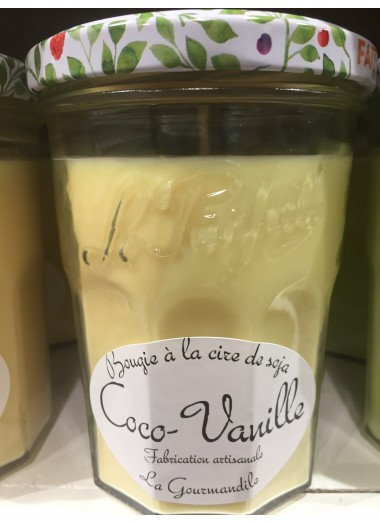 """Bougie Pot gourmand """"Coco-Vanille"""""""
